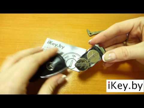 Замена батарейки в ключе mercedes w211 фотка