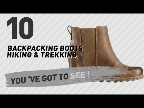 Backpacking Boots For Women // The Most Popular 2017