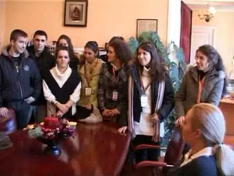 Sinaia, vizitata de elevi macedoneni