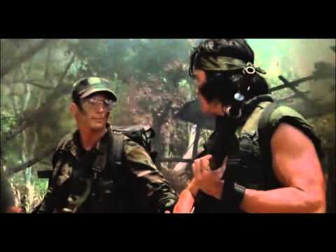 "Best parts from ""Predator"" and it's never shown on TV."