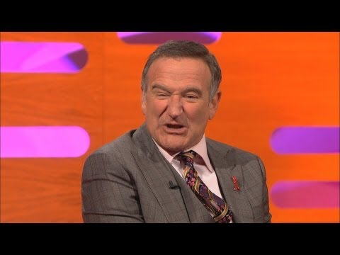 ROBIN WILLIAMS & ELIJAH WOOD: Oscar Oops + Jack Nicholson Impressions (The Graham Norton Show)