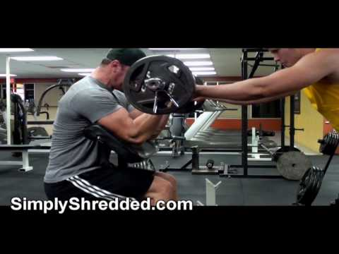 bodybuilding arm routine - Paul Revelia, a natural professional bodybuilder, shows us how he trains his arms and gives us a few more tips and information on his diet and training.