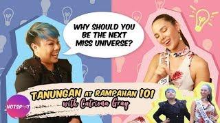 Video Hotspot 2018 Episode 1470: DJ JhaiHo, hinamon si Catriona Gray sa isang matinding Q & A challenge! MP3, 3GP, MP4, WEBM, AVI, FLV Juli 2019