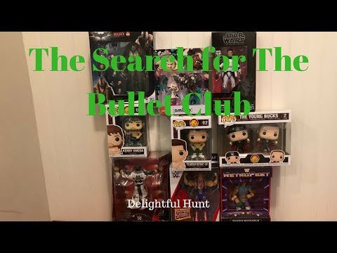 Bullet Club Funko Pops, WWE Elite, Clone Commander Wolffe & More: Delightful Hunt
