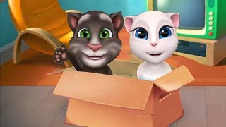 My Talking Tom Kid and My Talking Angela Baby Gameplay - Baby Positon Leve 1