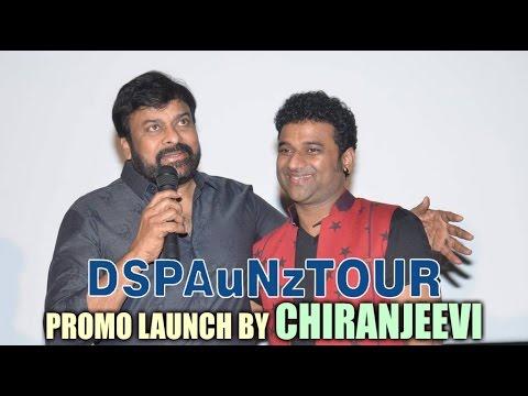 DSP Australia & New Zealand tour promo launch by Chiranjeevi