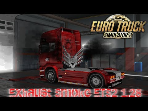 Exhaust Smoke ETS2 1.28.x