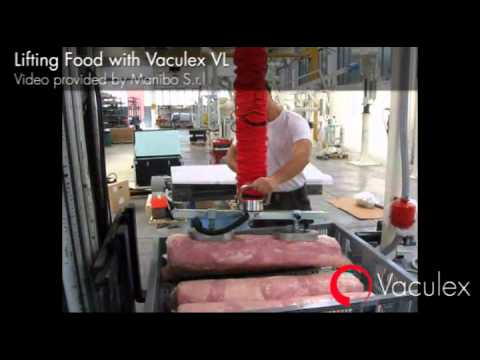 Vaculex Vacuum Tube Lifters  Video Image