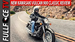 8. 2017 Kawasaki Vulcan 900 Classic Review and Specs