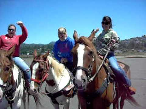 First Time Riders Horseback Pacific City Oregon