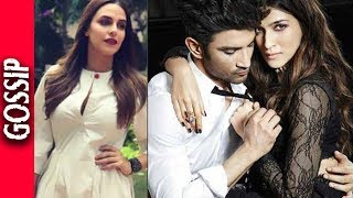 Neha Dhupia exposed shocking secrets of Kriti Sanon. She says that Kriti and Sushant are staying together after Sushant's break ...