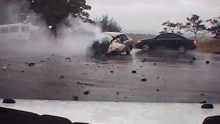 Подборка Аварий и ДТП #52 Car Crash Compilation