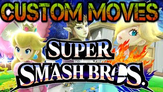 How To Get Custom Moves In Smash Bros 4