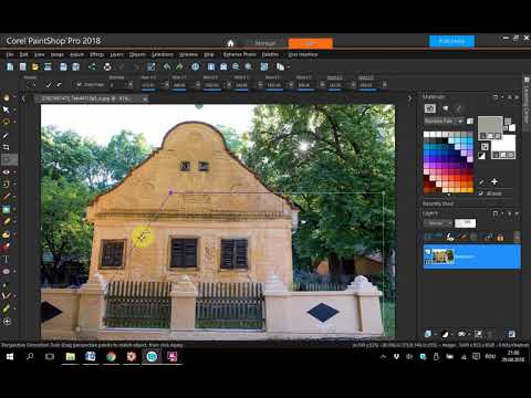 Corel PaintShop Pro 2018 Perspective Correction