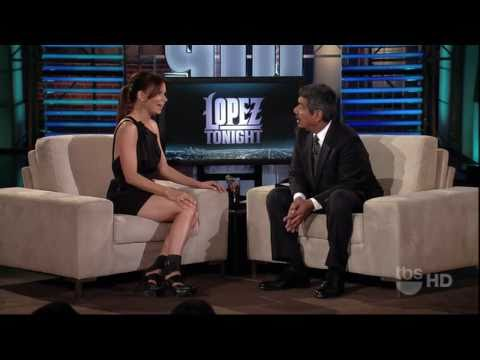 Mary Lynn Rajskub on Lopez Tonight interview