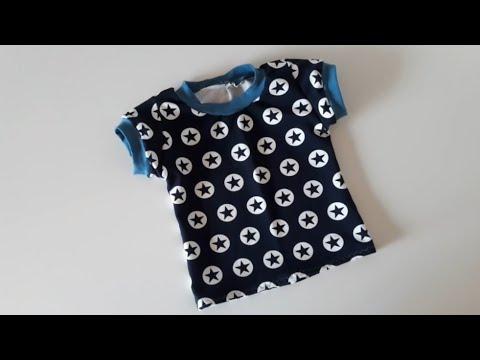 T-Shirt Nähanleitung - Für Anfänger - OHNE Schnittmuster - Nähtinchen