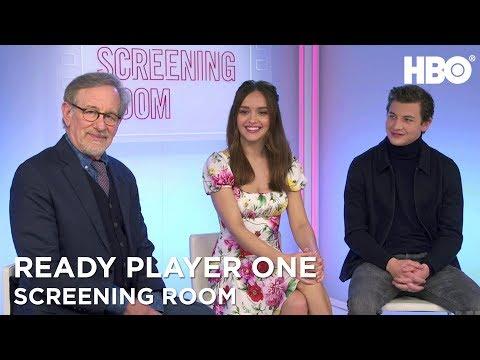 Steven Spielberg, Olivia Cooke & Tye Sheridan On Ready Player One (2018) | HBO