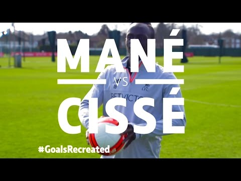 Emre Can Shows Mane How It's Done! Wonder Goal Nailed For BT Sports' #GoalsRecreated