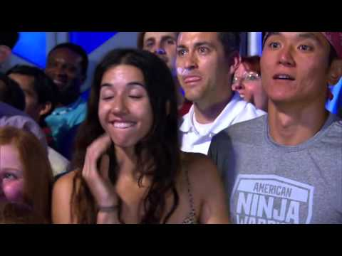 Isaac Caldiero Conquers the American Ninja Warrior Course