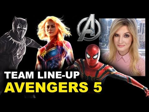 Avengers 5 Team Cast - Beyond The Trailer