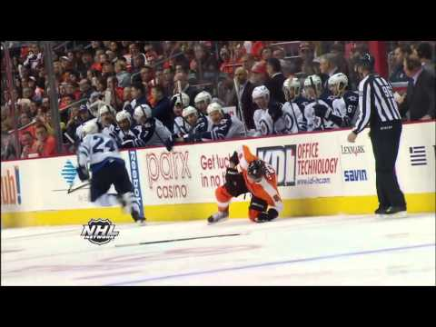 hits - NHL Network Top 10 Bone Crunching Hits of the Week. NHL Network on You Tube.