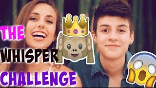 CAMERON DALLAS OR NASH GRIER!?! || Whisper Challenge Part 2 With Justin Johnes