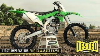1. First Impressions: 2019 Kawasaki KX250