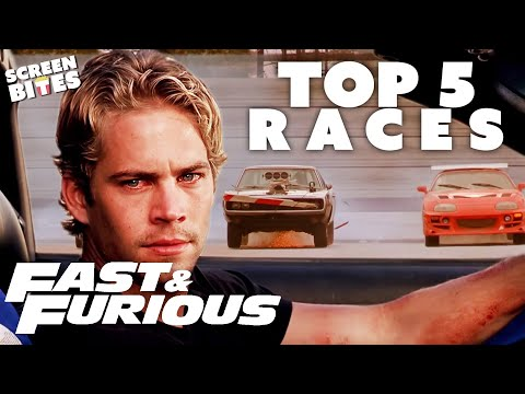 TOP 5 Fast & Furious Car Races | SceneScreen