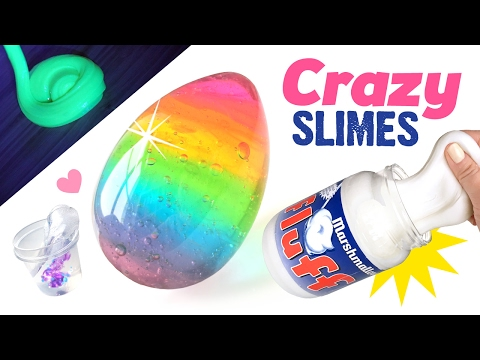 5 Crazy DIY Slimes You've NEVER Seen Before!!! Fun ASMR Slime Ideas!