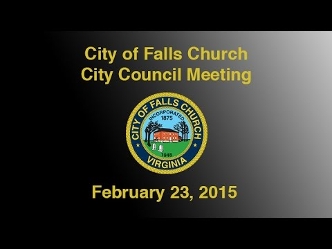 City Council Meeting February 23, 2015