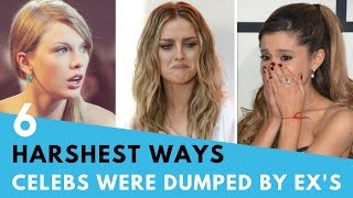 Video 6 Harshest Ways Celebs Have Been Dumped By Exes! MP3, 3GP, MP4, WEBM, AVI, FLV April 2018