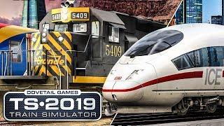10. TS 2019: Mitdem ICE 3 nach Frankfurt Flughafen   TRAIN SIMULATOR 2019 #1
