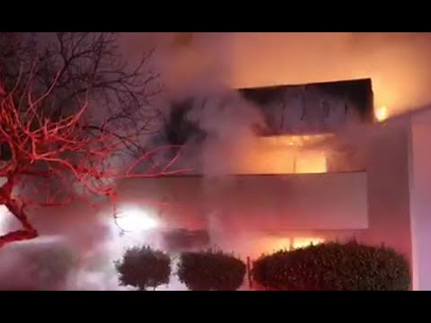 VALLEJO FIRE: Raw video of 3-alarm Vallejo commercial building fire