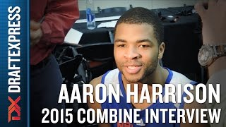 Aaron Harrison 2015 NBA Draft Combine Interview