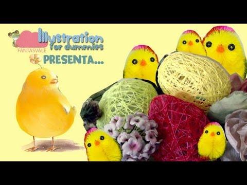 uova di pasqua fai da te (con sorpresa!) - riciclo creativo
