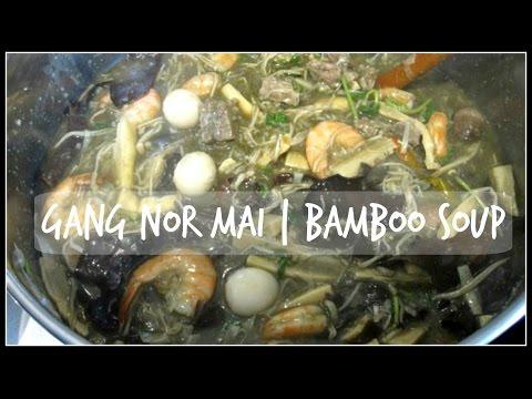 How to make GANG NOR MAI | Bamboo Soup | House of X Tia | Lao Food