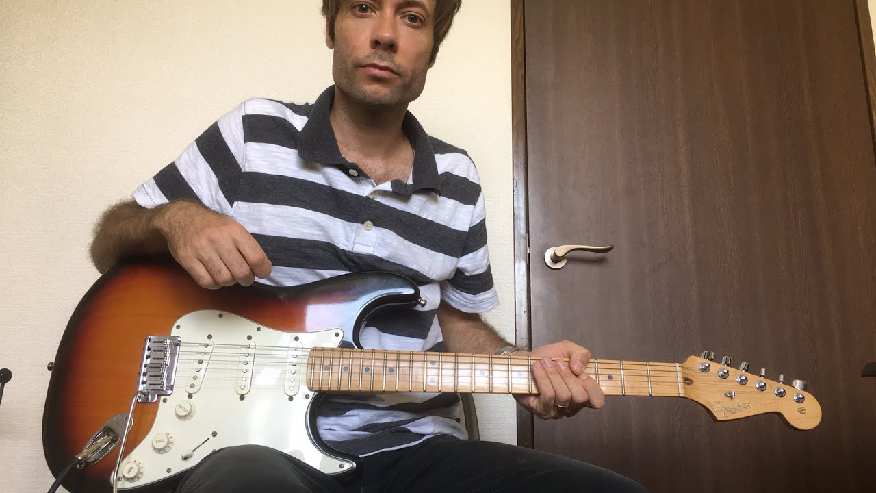 """Yes and Amen"" Housefires – Electric guitar tutorial"