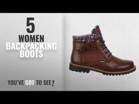 Top 10 Women Backpacking Boots [2018]: Discovery Expedition Women's Ankle High Outdoor Boot