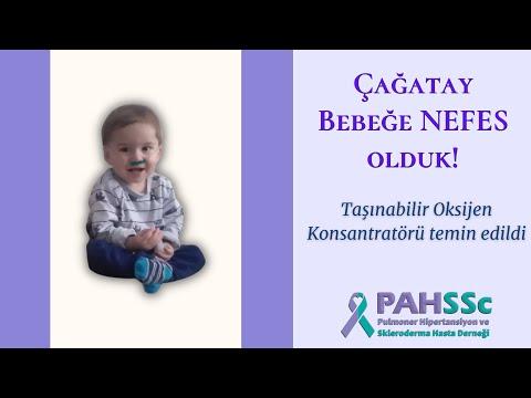 Çağatay Bebeğe NEFES olduk - PAHSSc İstanbul Hasta Okulu - 07.03.2020