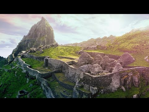 Exploring Ireland  s Skellig Michael Luke Skywalker  s Island on Planet
