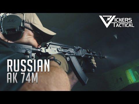Russian AK 74m