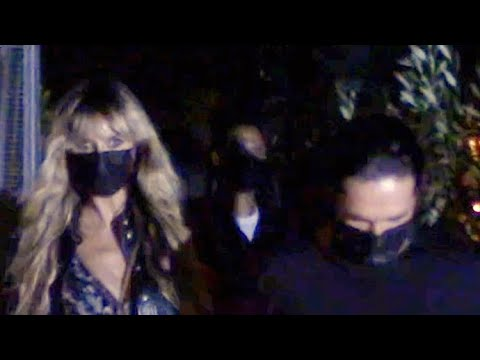 Heidi Klum And Hubby Tom Kaulitz Take Their Romance To Giorgio Baldi