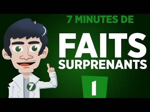 7 minutes de faits surprenants - #1