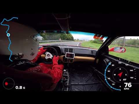 GSMP Korczyna 2017 - Sergio Azzini - Ferrari 355 Challenge - on board (sobota)