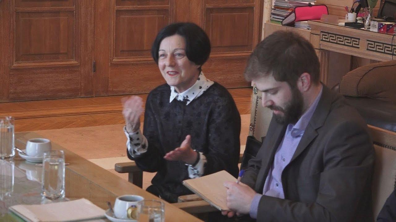 Στην Αθήνα η συγγραφέας  Χέρτα Μύλερ