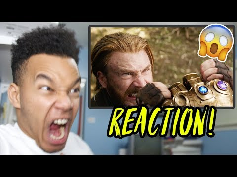 Avengers: Infinity War Official Trailer REACTION! (видео)