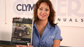 6. Clymer Manuals Polaris Sportsman 600 700 800 ATV Four Wheeler Maintenance Repair Shop Manual Video