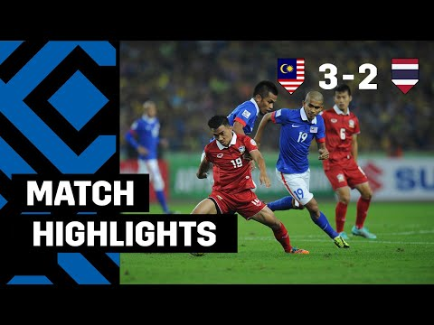 Cup - Malaysia 3-2 Thailand (3-4 on agg): Thailand became 2014 AFF Suzuki Cup Champions after 2 late goals by Charyl Chappuis & player of the tournament Chanathip Songkrasin gave them a dramatic...