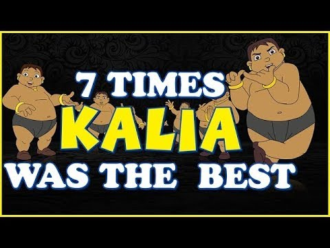 Chhota Bheem - 7 Times KALIA was the Best