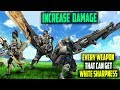 INCREASE YOUR DAMAGE! ALL The Weapons that Can Get WHITE SHARPNESS! Monster Hunter World